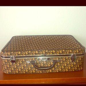 Vintage authentic Christian Dior suitcase